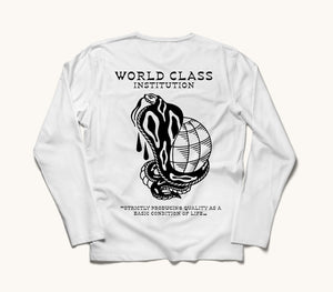 Deep World Class Long Sleeve Tee