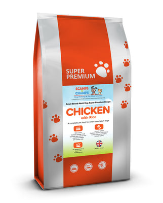 Super Premium Small Breed Adult Dog Food With Chicken & Rice
