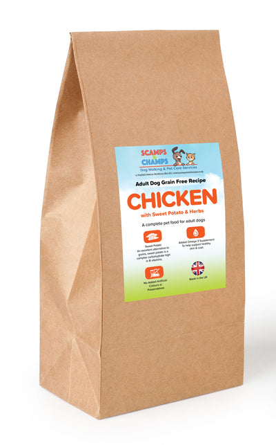 Grain Free Adult Dog Chicken with Sweet Potato & Herbs