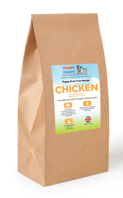 Grain Free Puppy - Chicken with Turkey, Salmon, Sweet Potato & Carrot