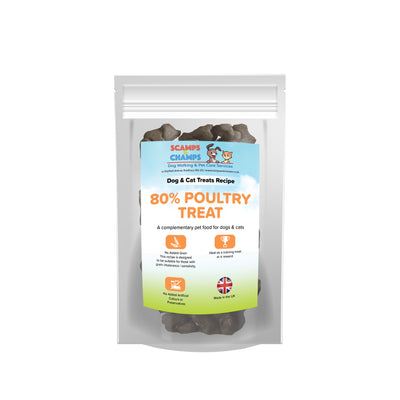80% Poultry Treat