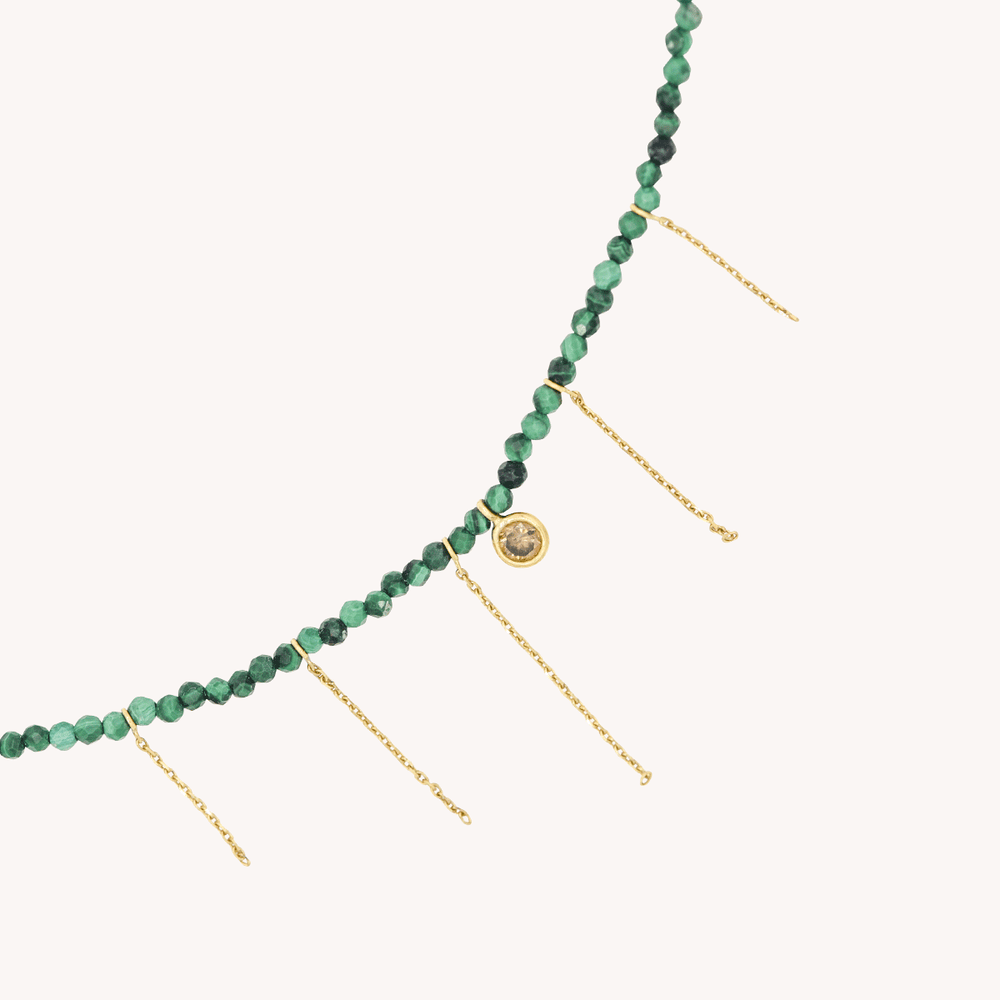 Collier Margot Malachite