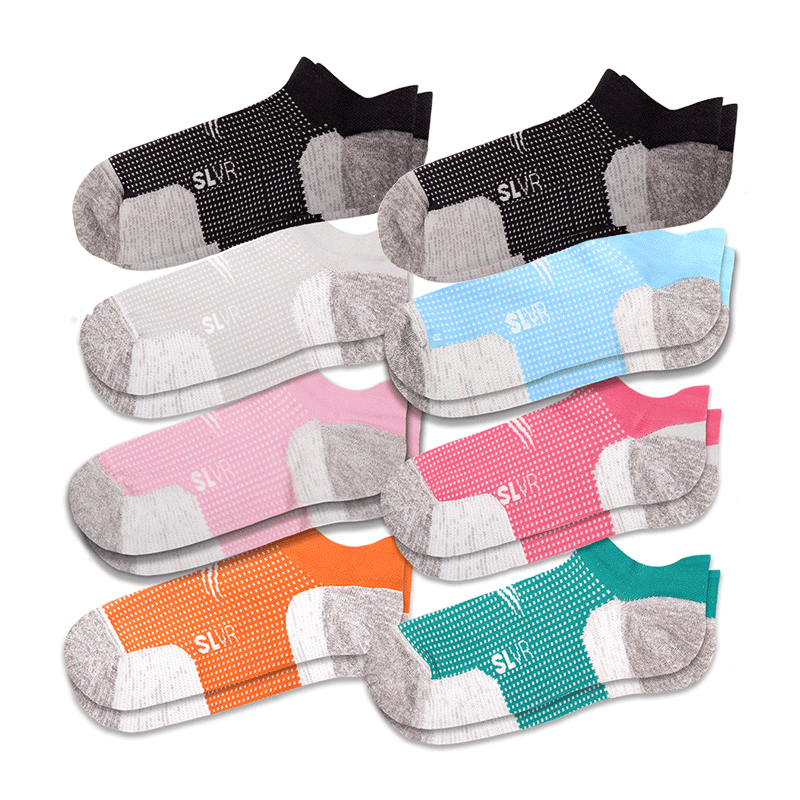 8 Pack - Women's Performance Socks