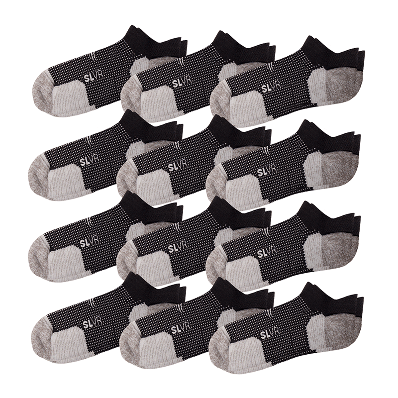 12 Pack - Men's Performance Socks