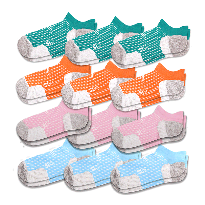 12 Pack - Women's Performance Socks
