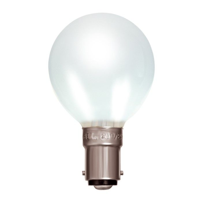 Golf 25w SBC Opal Incandescent Lamp