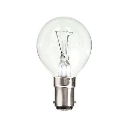 Golf Ball 60w SBC Clear Incandescent Lamp