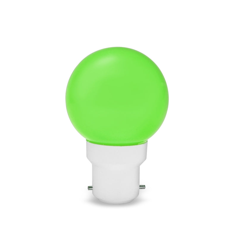 LED Golf 0.5w BC Green LED Light Bulb