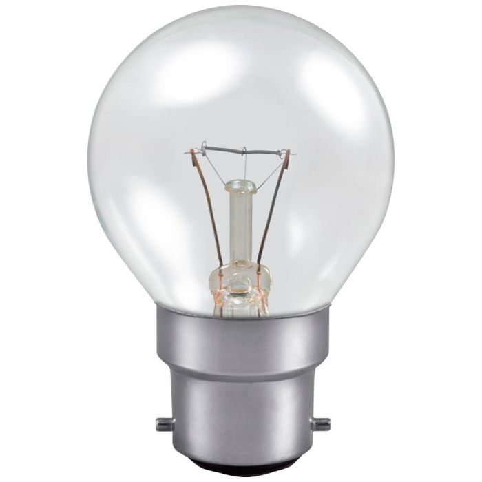 Golf 25w BC Clear Incandescent Light Bulb