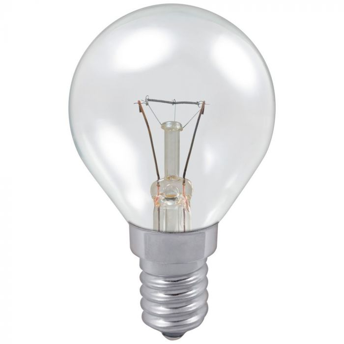 Golf 25w SES Clear Incandescent Light Bulb