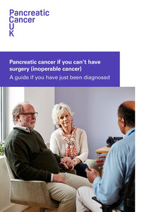 Newly Diagnosed Pack: Information if you can't have surgery to remove pancreatic cancer (inoperable cancer)