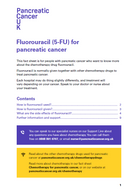 Fluorouracil information sheet