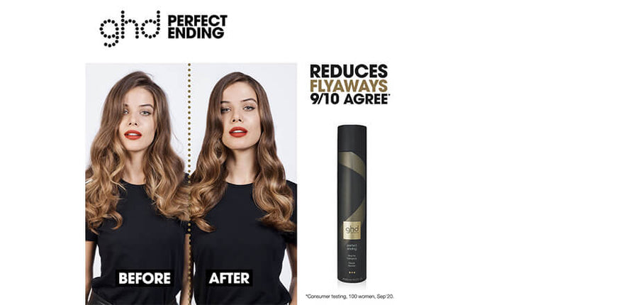 ghd perfect ending - final fix hairspray 400ml For long-lasting hold and a professional finish.