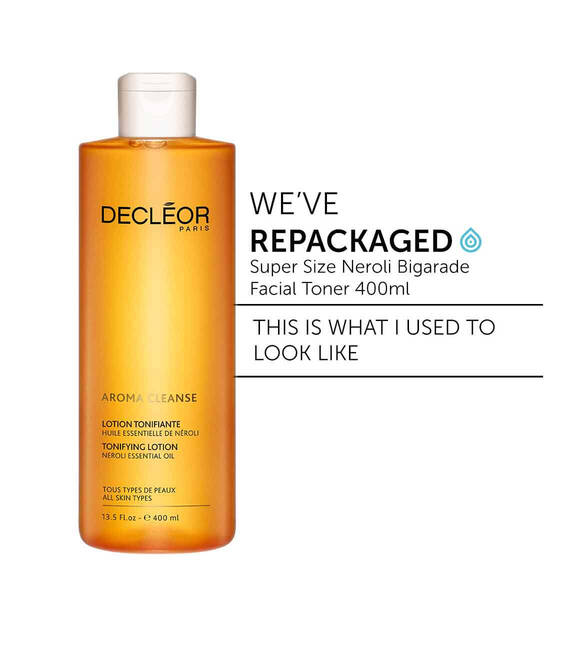 Decleor super size neroli bigarade hydrating facial toner 400ml toner for dehydrated skin