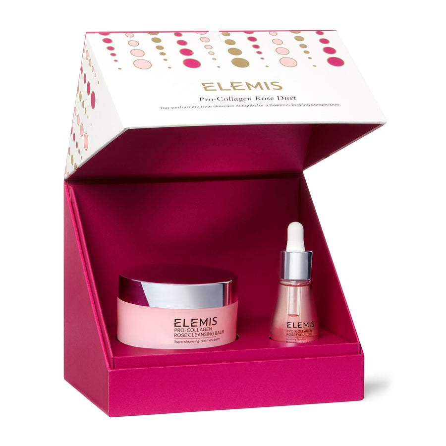 Elemis Rose Duel ( Worth £111 ) Buy Now Only £75 the set
