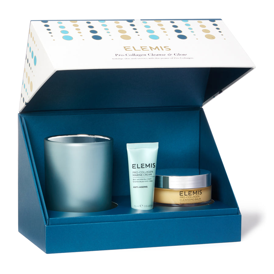 Elemis Cleanse & Glow ( Worth £102 ) Buy Now Only £75 the set