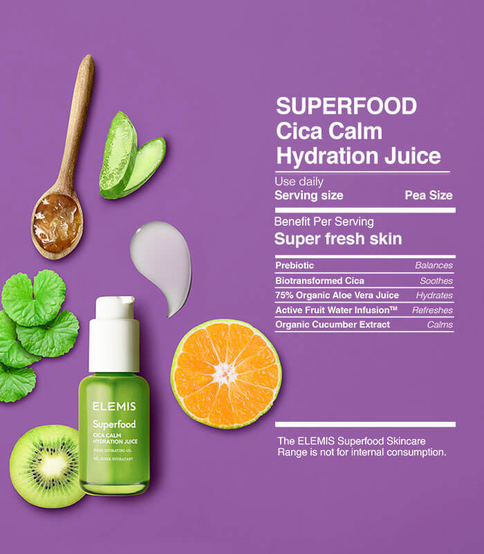 Elemis Superfood Cica Calm Hydration Juice 50ml