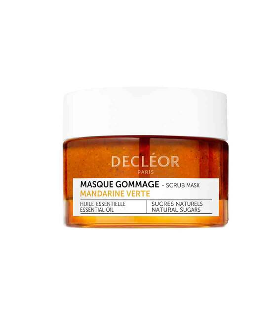 Decleor Green mandarin glow exfoliating 2 in 1 scrub mask 50ml