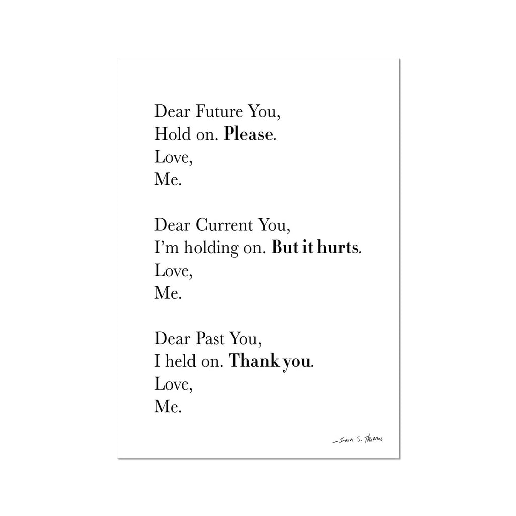 Poetry | Dear You Fine Art Print