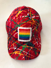 Load image into Gallery viewer, Cats N PawLick Rainbow Baseball Caps