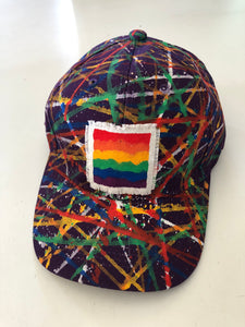 Cats N PawLick Rainbow Baseball Caps