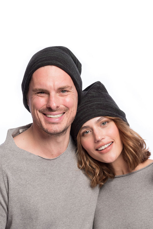 Merino knitted hat Seamless