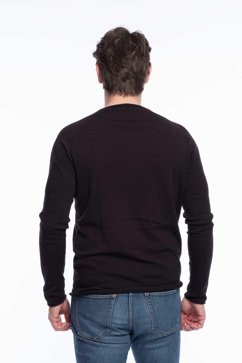 Thin Knit Bio Cotton | Deepblack