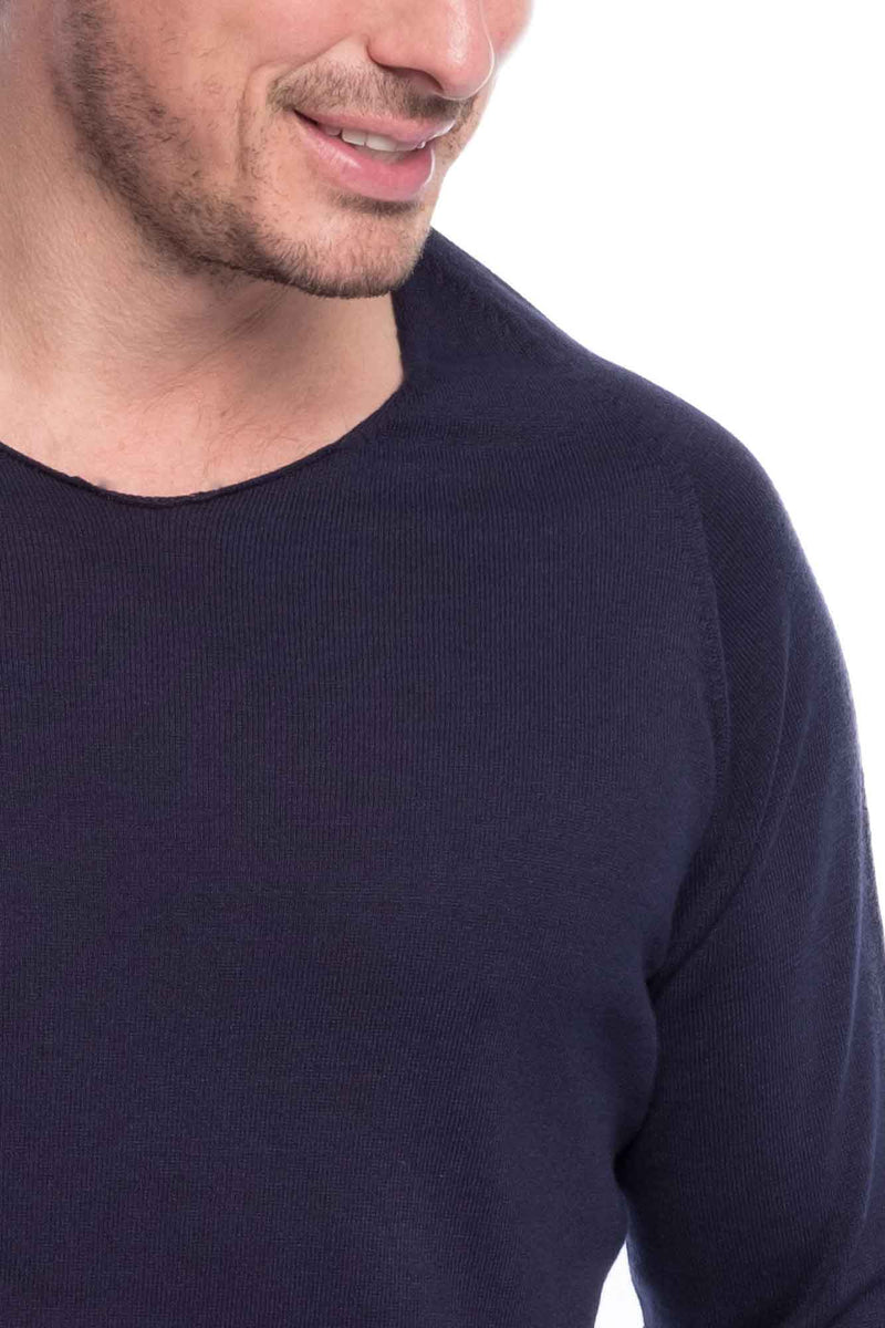 Thin Knit Bio Cotton | Nightblue
