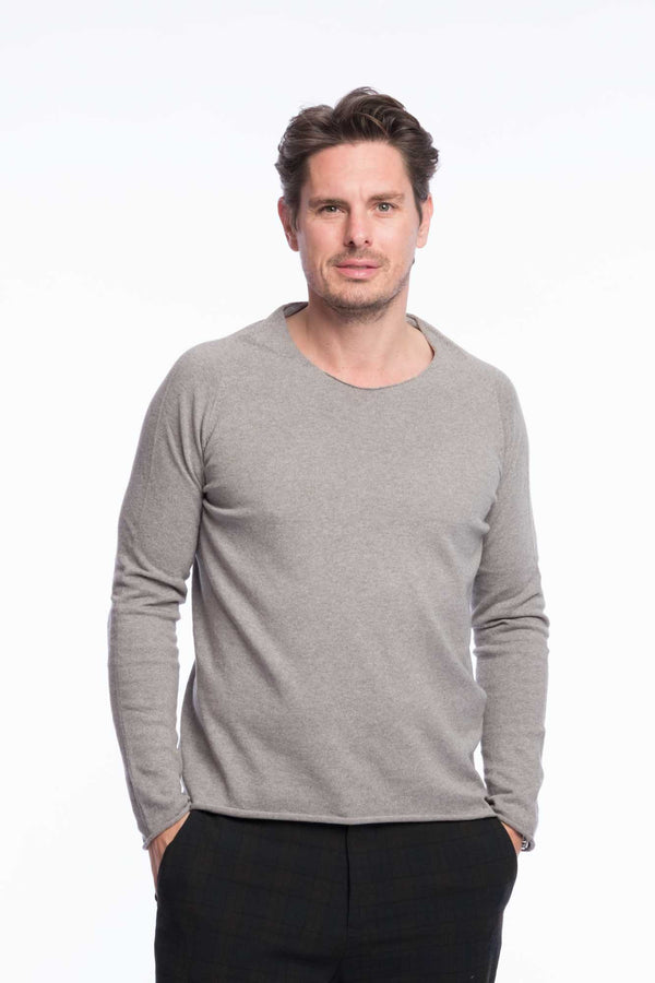Thin Knit Organic Cotton | Light gray