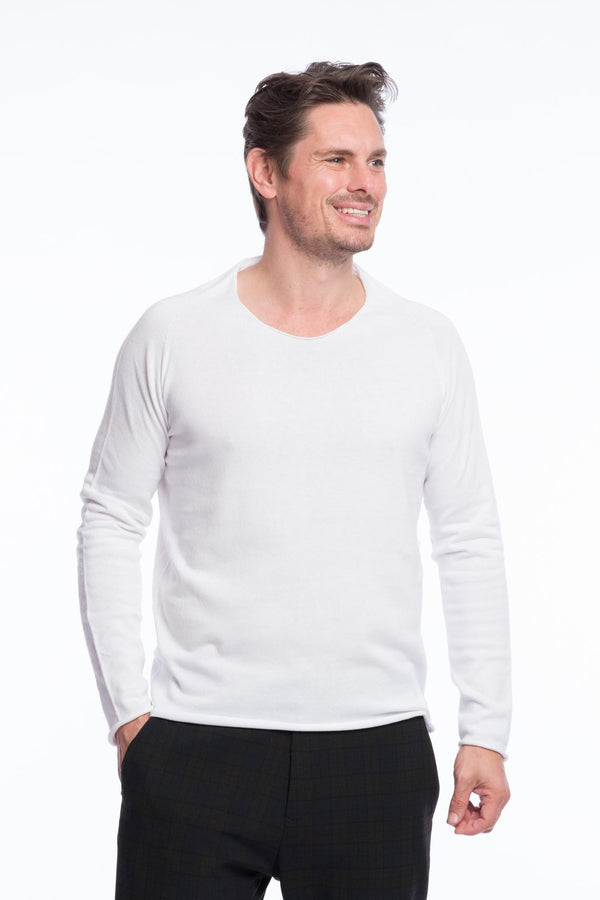 Thin Knit Organic Cotton | Clearwhite