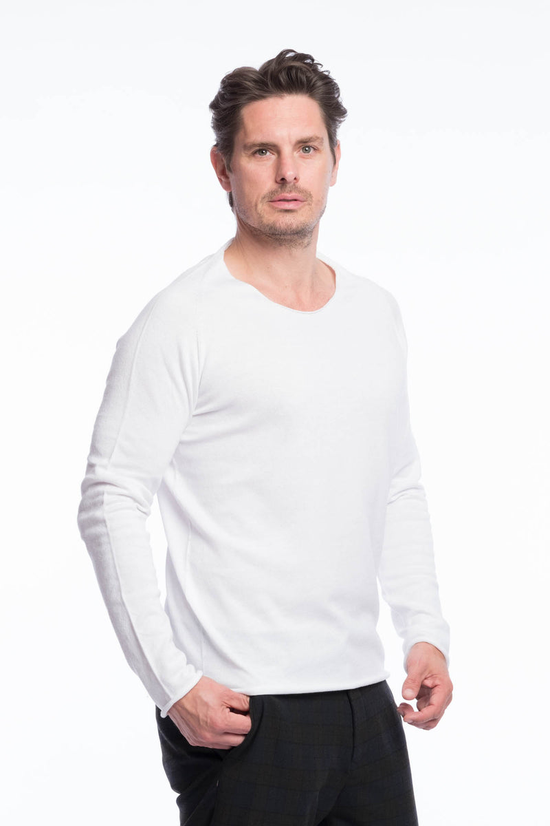 Thin Knit Bio Cotton | Clearwhite