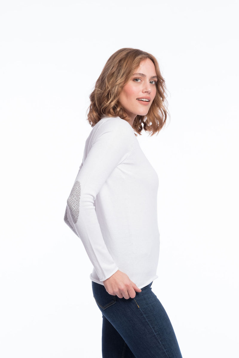 Seamless Bio Cotton Thin Knit | Brilliantwhite