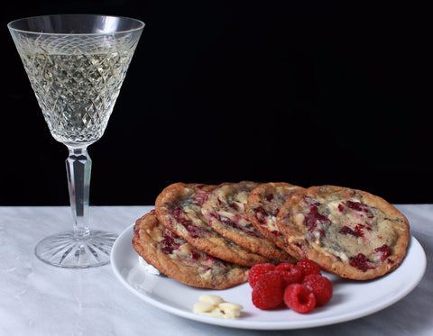Champagne and Raspberries N Cream Cookies