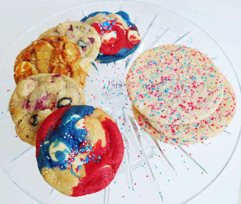 18 Cookie Gift Box - 4th of July Cookies