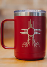 Load image into Gallery viewer, Travel Mug 16oz - Zia Roots