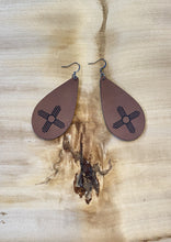 Load image into Gallery viewer, Zia Leather Earrings