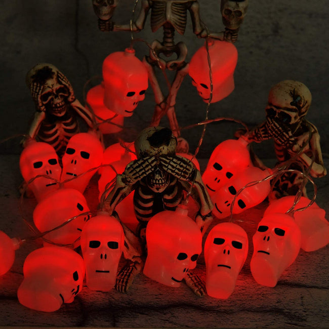 Halloween String Colourful Lights - TD Lil Smiles