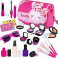 Kids Makeup Kit Glasses & Handbag - TD Lil Smiles