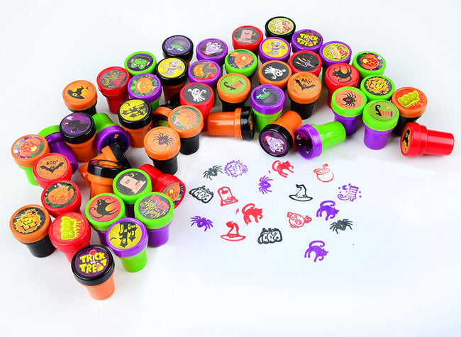 Halloween Assorted Stamps Kids - TD Lil Smiles