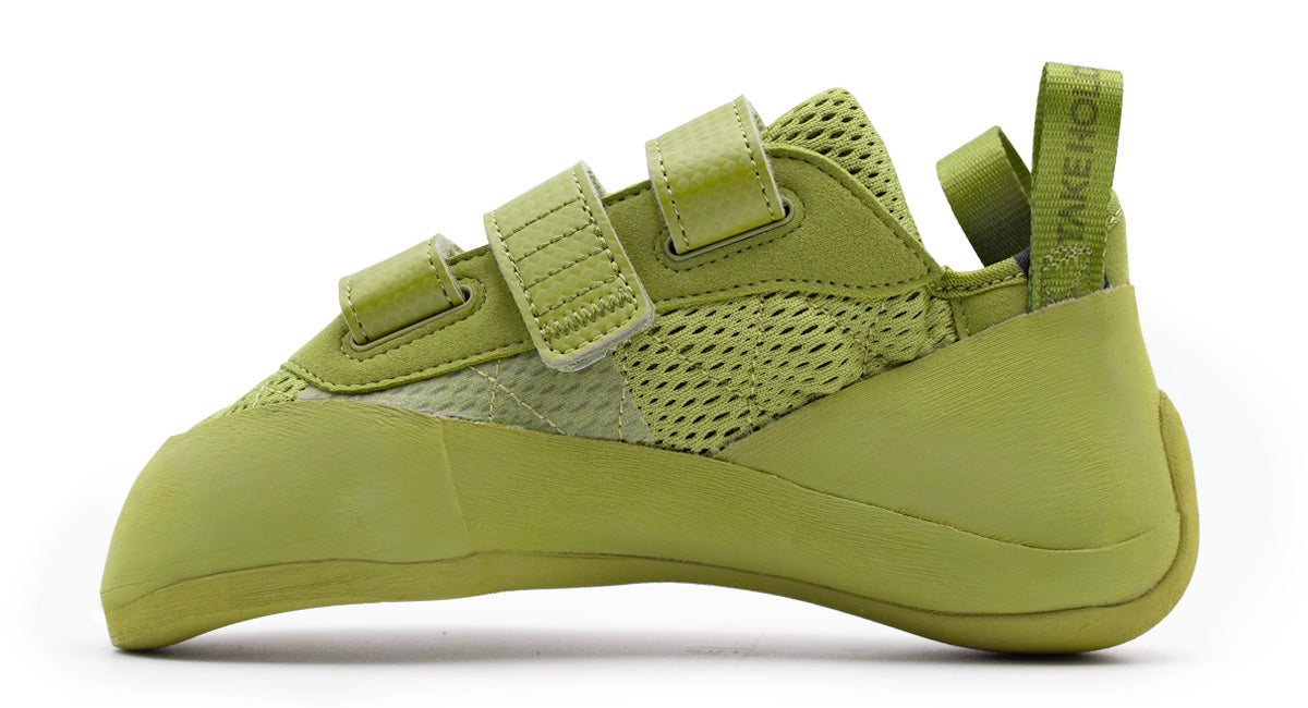 So iLL runner lv in olive Climbing Shoe inner product image
