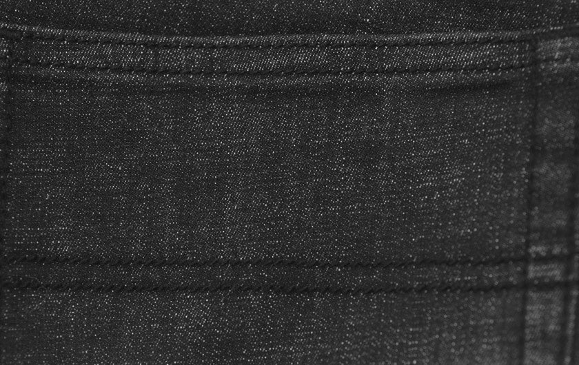 men's so ill climbing denim jeans detail of tonal stitching