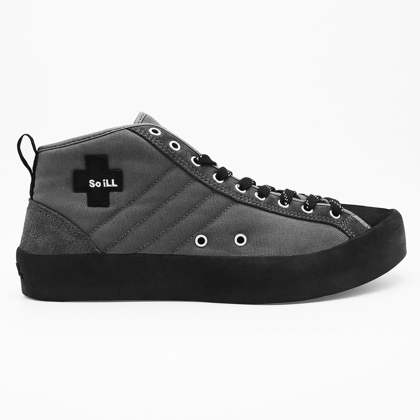 So iLL Approach shoes grey with black trim