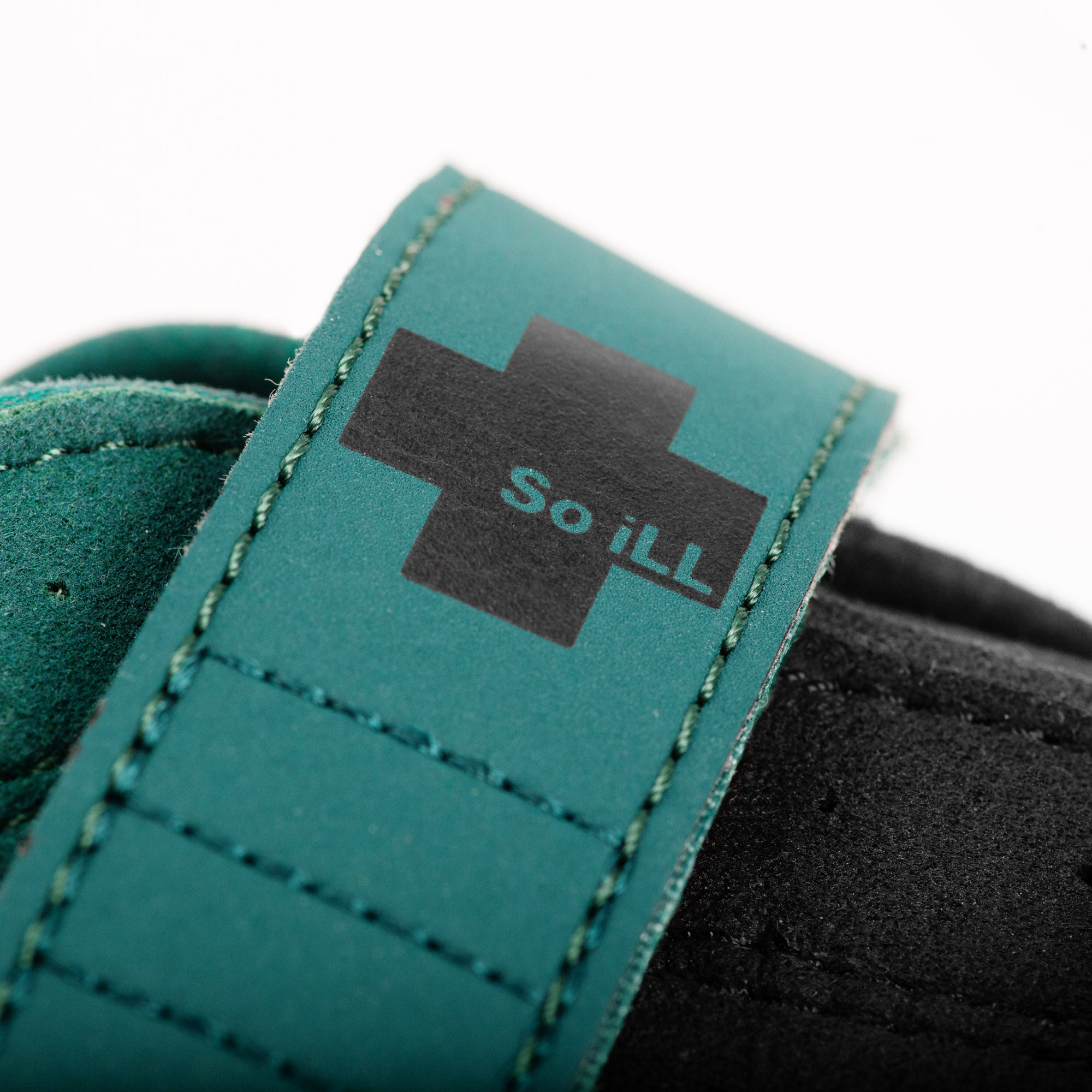a close up of the lateral of the so ill main street lv rock climbing shoe