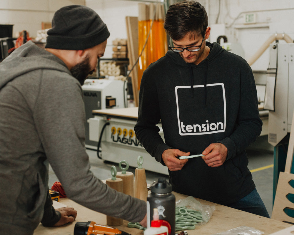 The founders of So iLL and Tension discuss powder coated hanger options