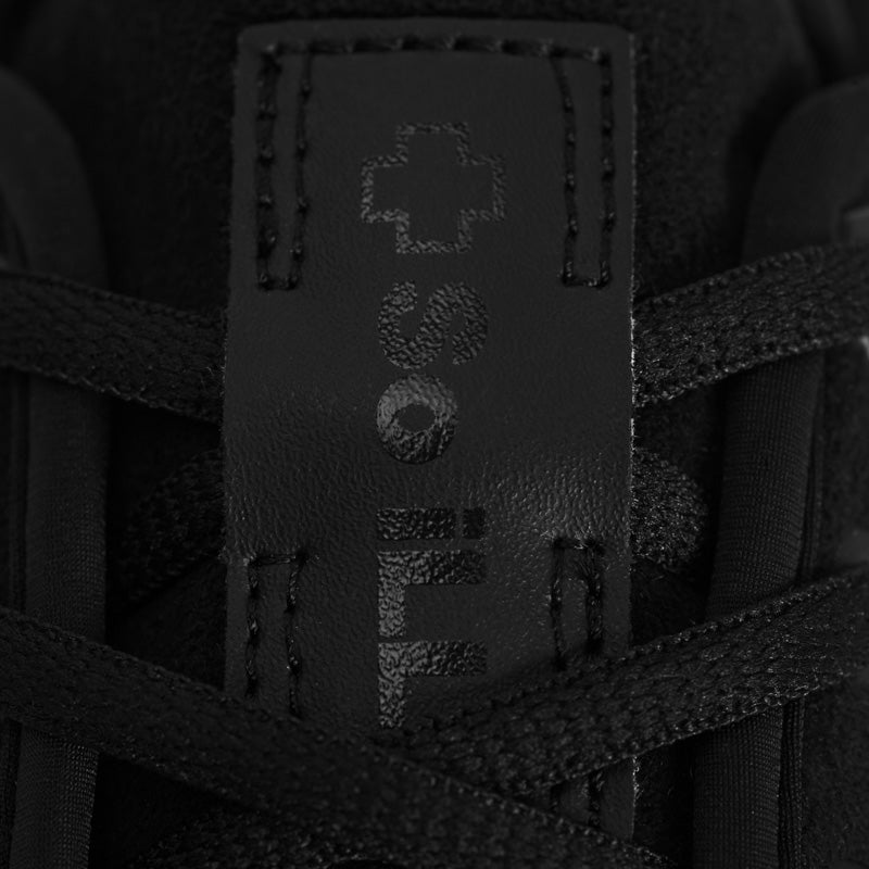 Up close image of So iLL setter Shoe 2.0 tongue