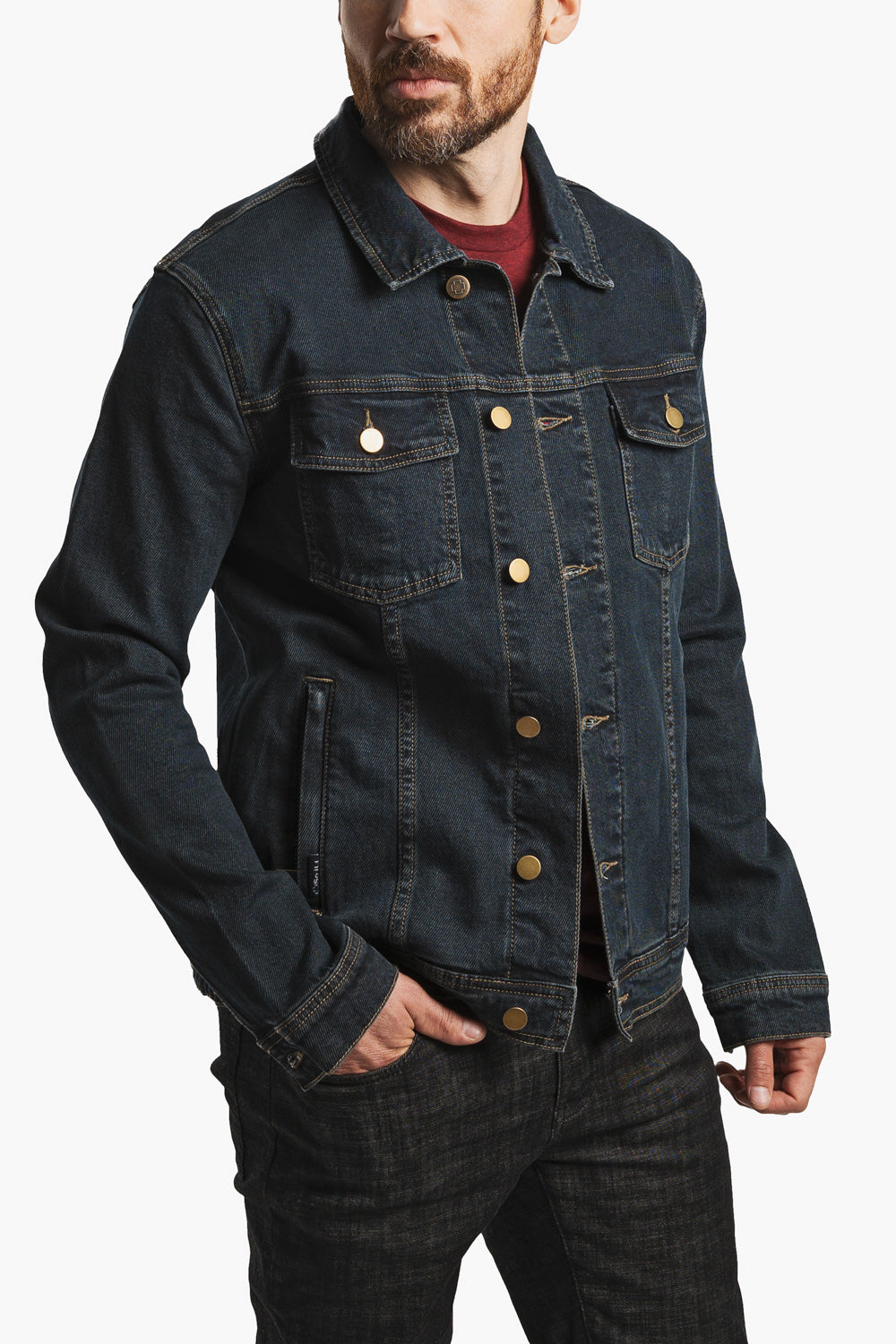 Denim Jacket - Midnight