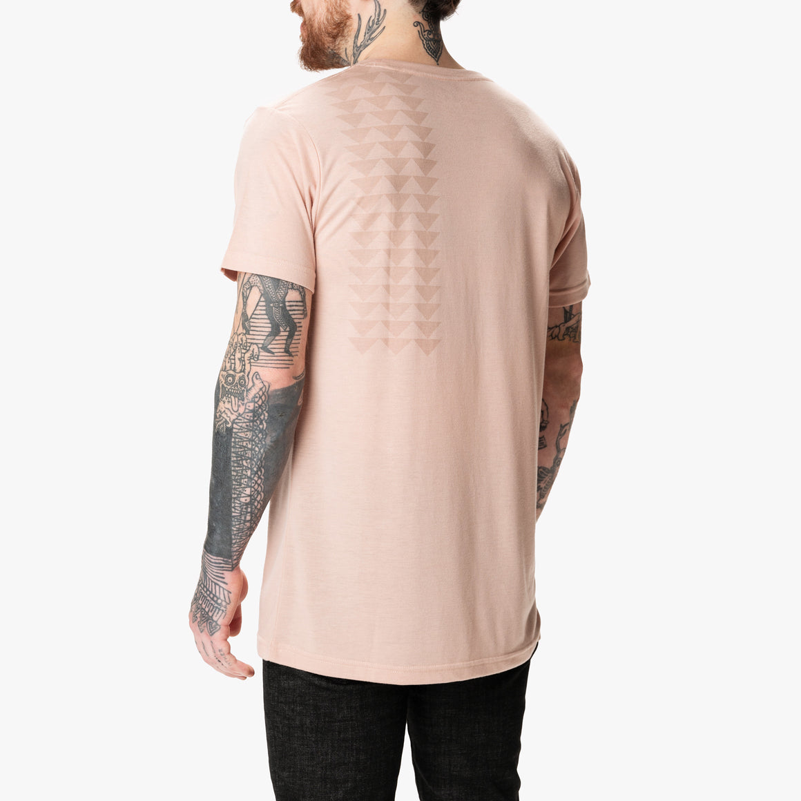 Nakoa Tee - Dirty Pink