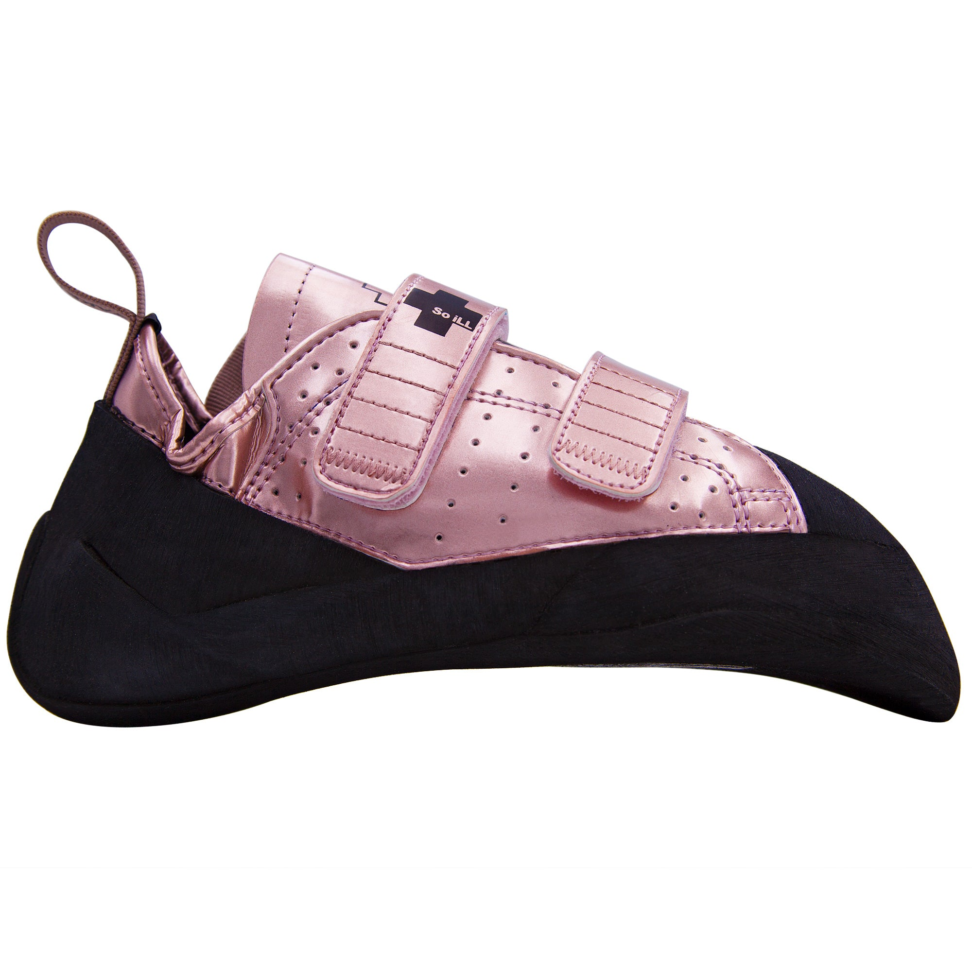 So iLL Climbing Shoe Tokyo Rose Gold Street Side View