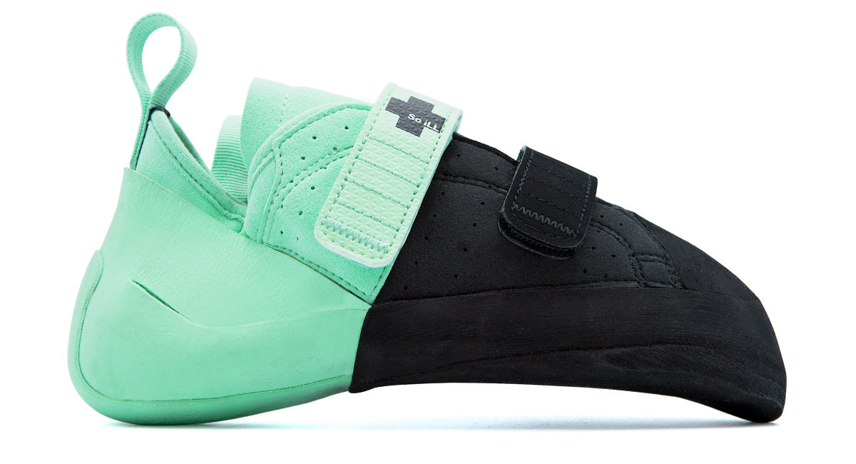 So iLL street lv in teal and black Climbing Shoe outer product shot