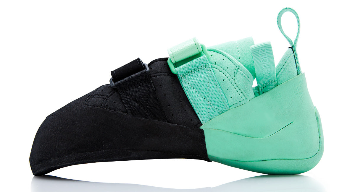 So iLL street lv in teal and black Climbing Shoe inner product shot